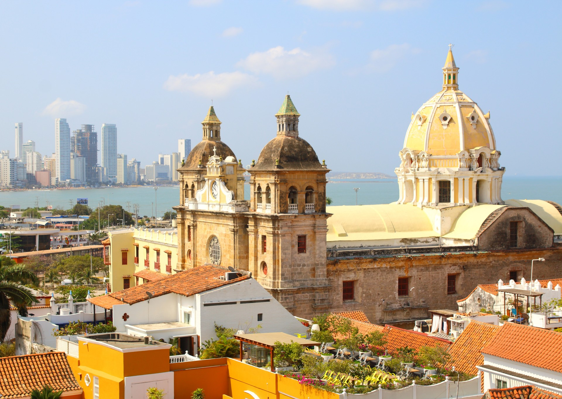 View over Cartagena, Colombia