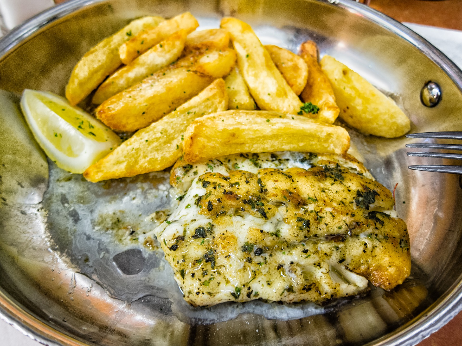 Delicious South African fish and chips