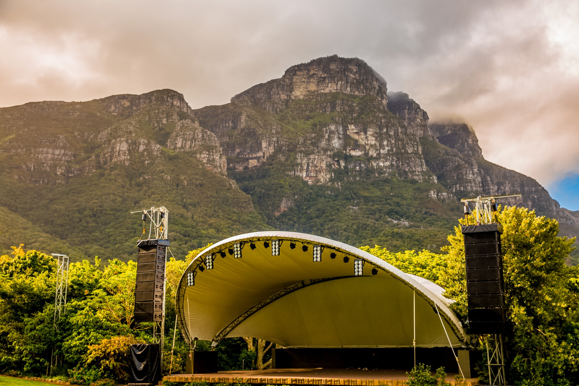 Summer concerts in Kirstenbosch National Botanical Garden