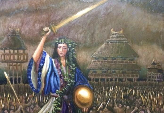 Queen Himiko of Japan
