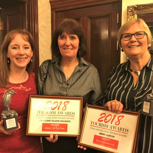 Our fantastic female-led local partners: Margaret and Michelle