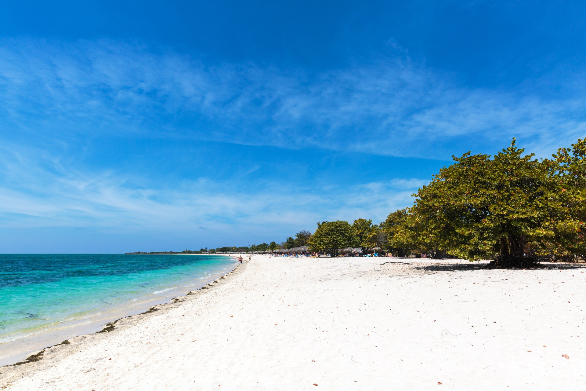 Playa Ancón is located just 15 km outside of Trinidad in Cuba