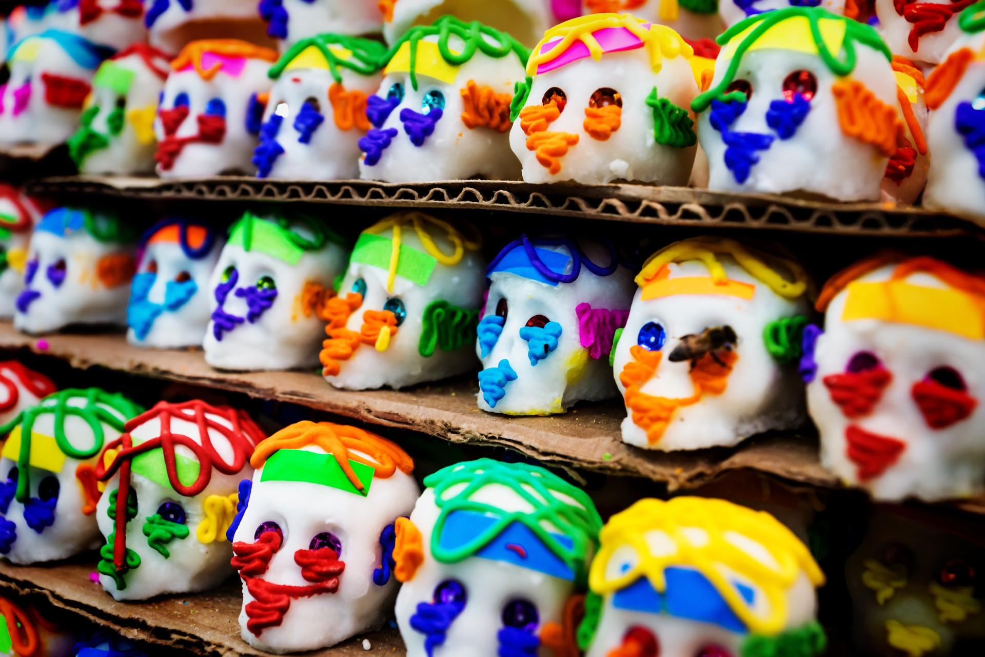 How to experience Mexico's famous Day of the Dead: Merida Candy Skulls
