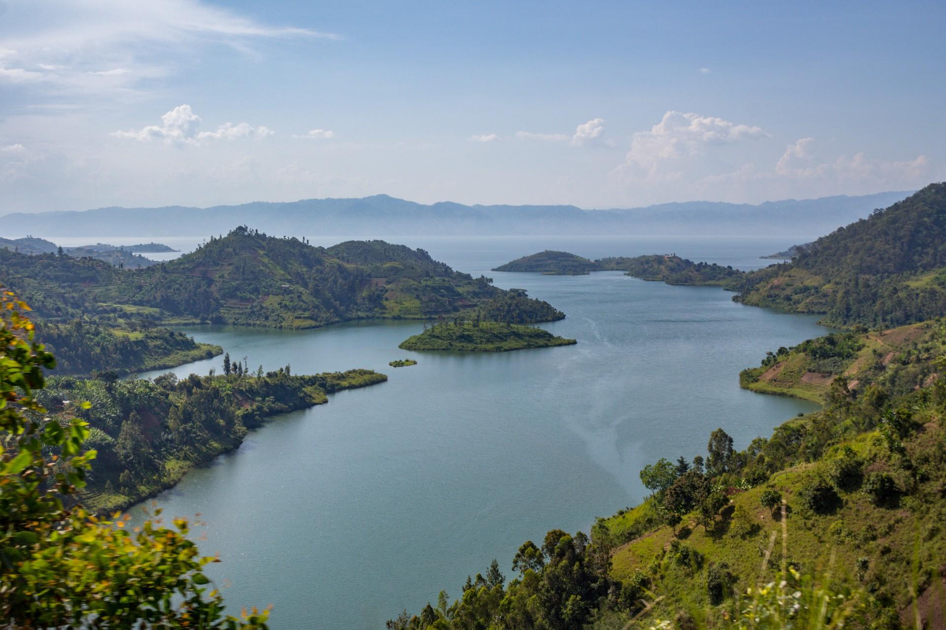 The magnificent Lake Kivu in Rwanda