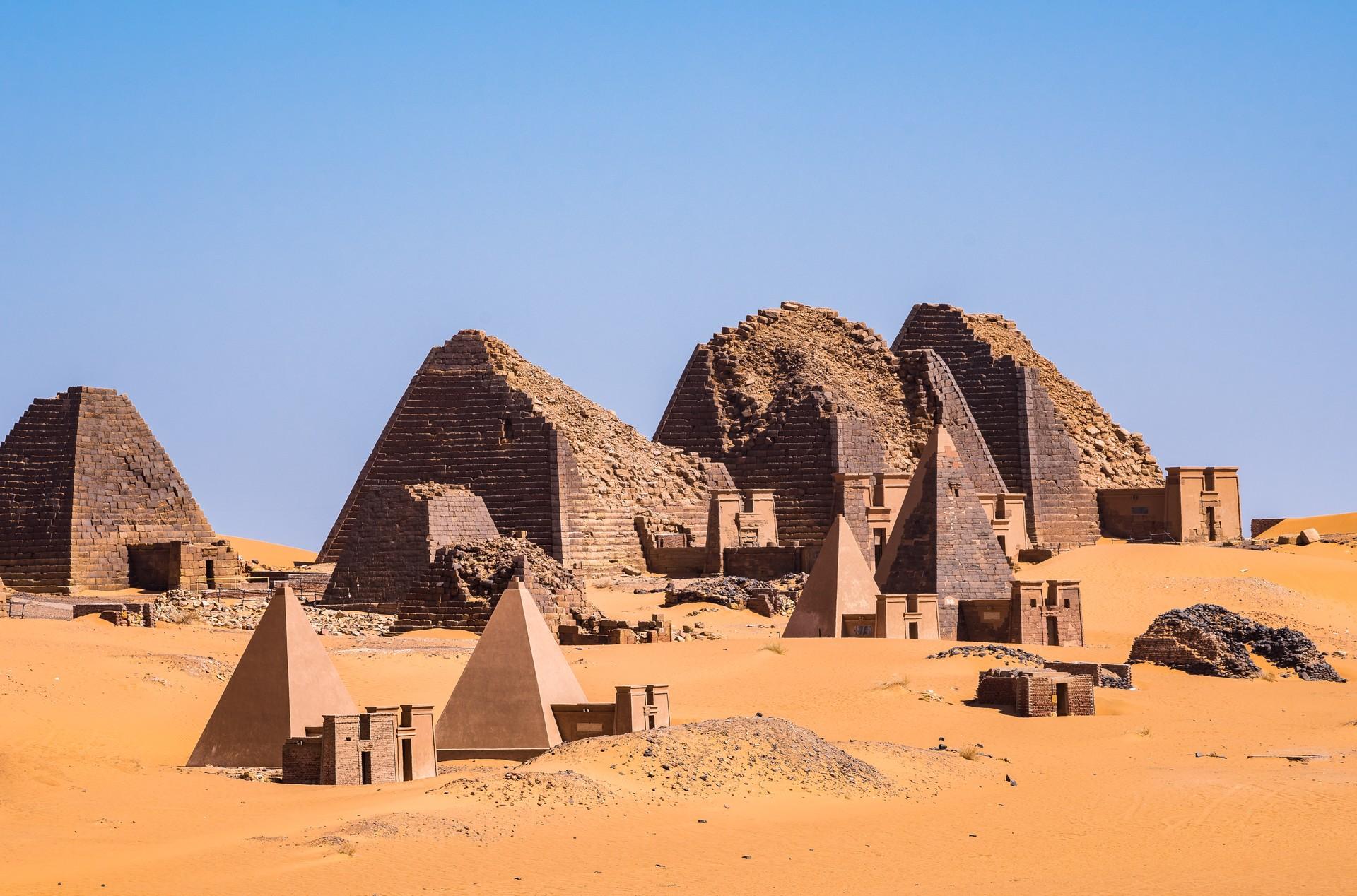 Best things to do in Sudan: Pyramids of Meroe