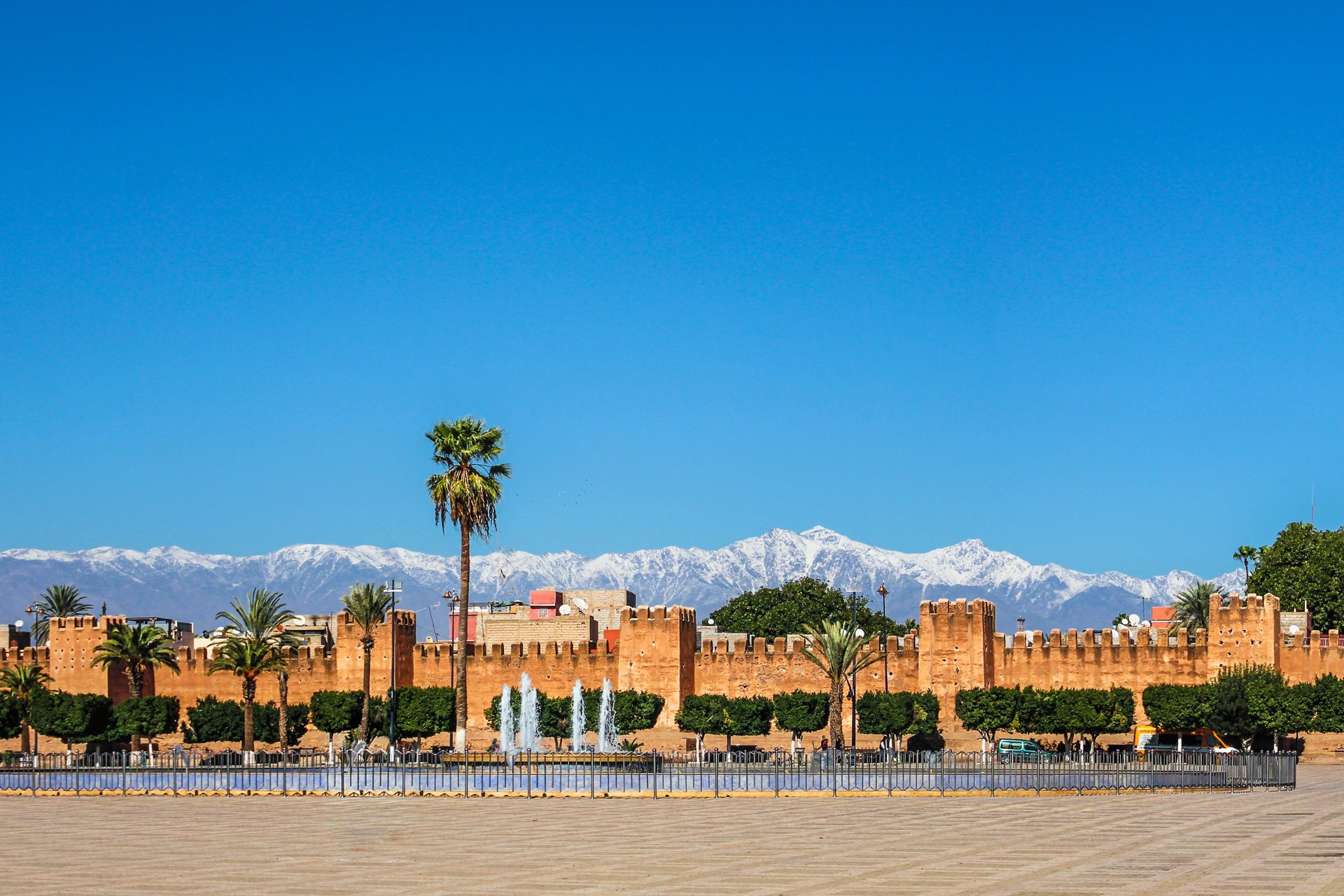 Taroudant: an alternative to Marrakech: Rampart Walls