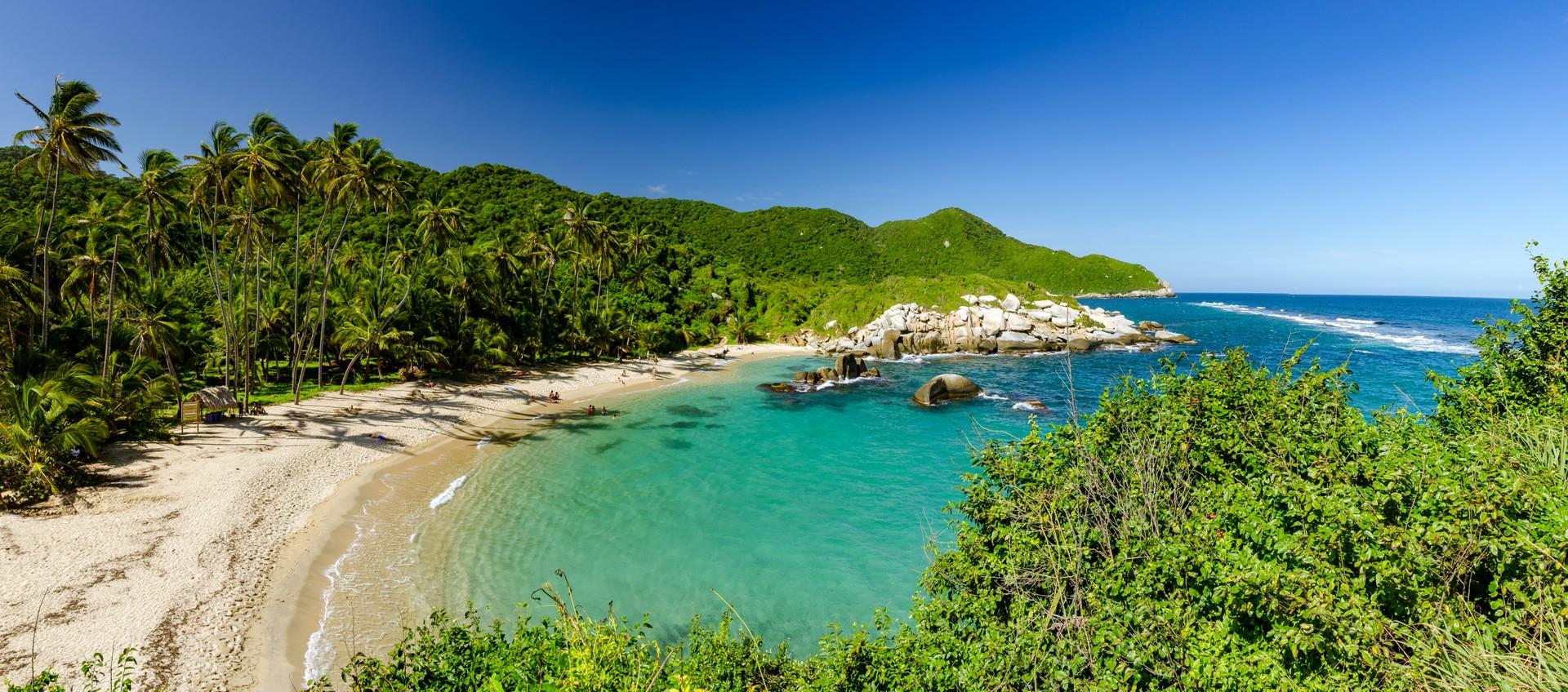 Tayrona National Park's Caribbean coast, Colombia