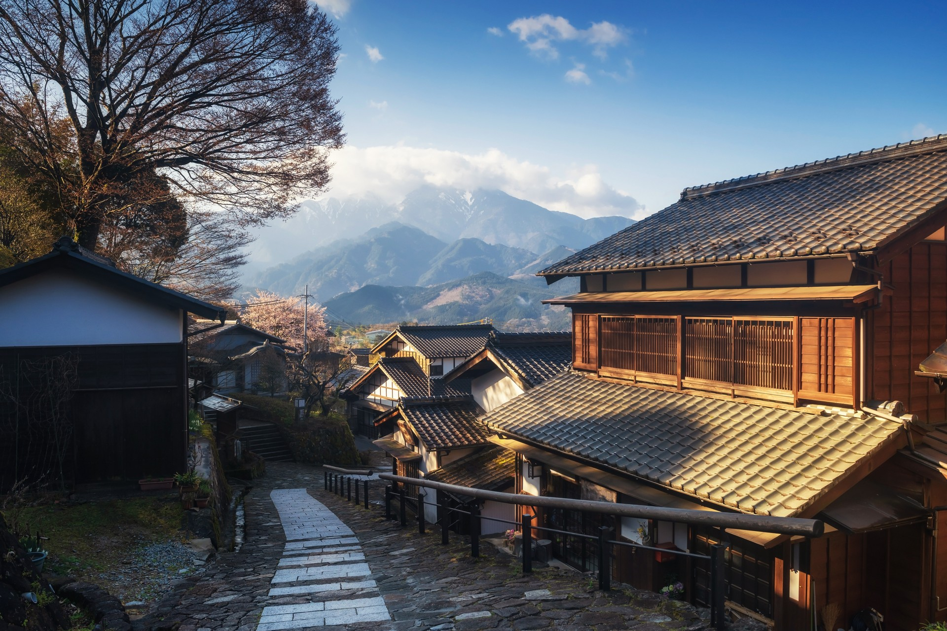 The Nakasendo Trail in Japan