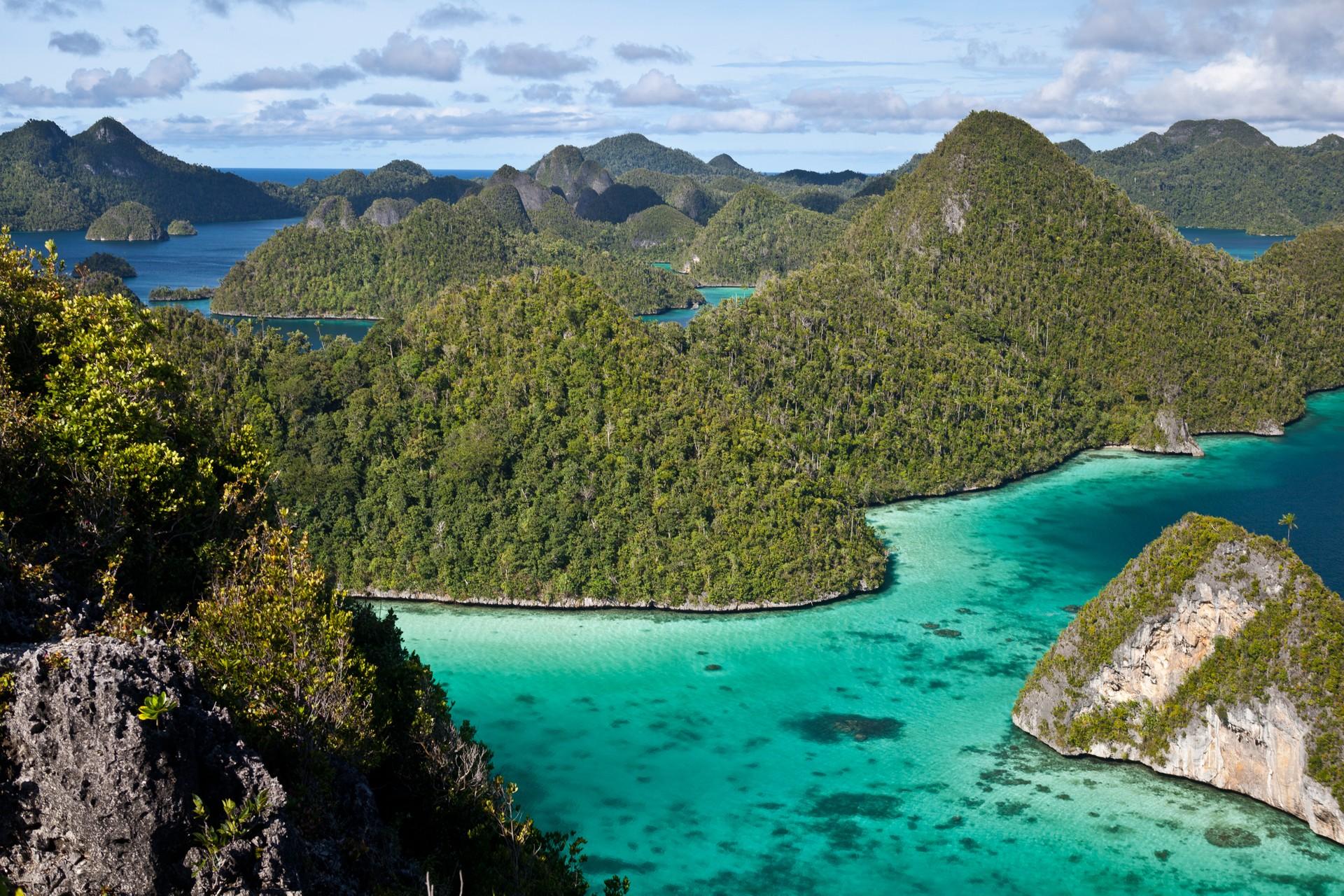 Raja Ampat landscape indonesia