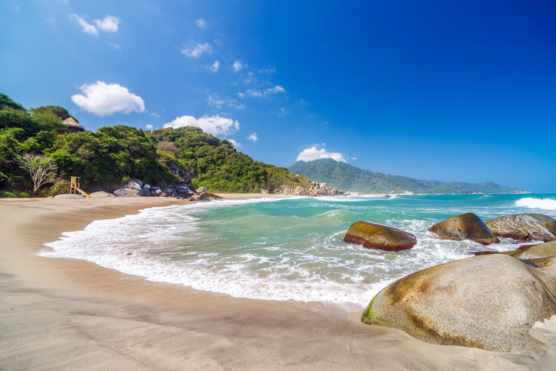 Beach in Colombia