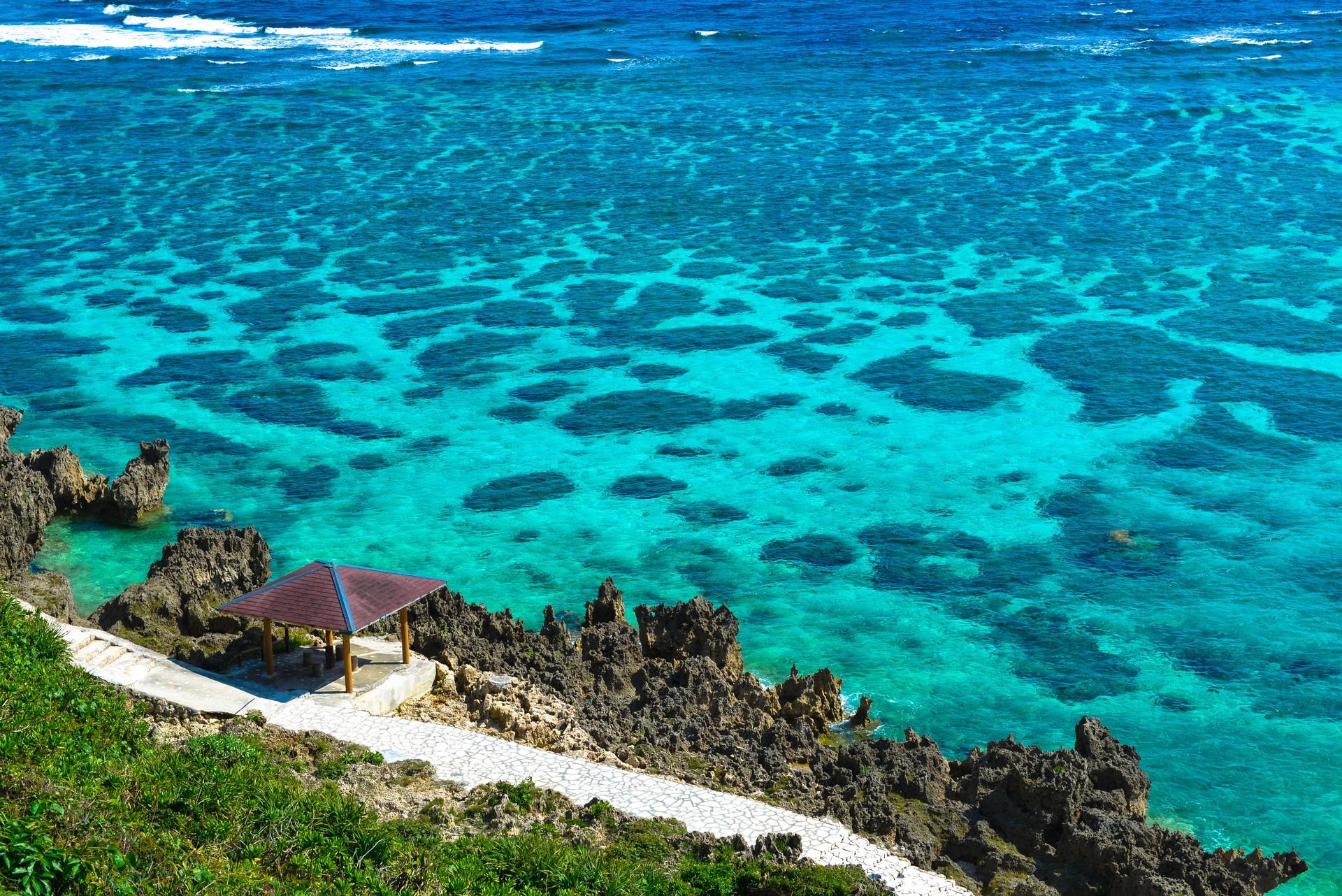 Okinawa's azure waters