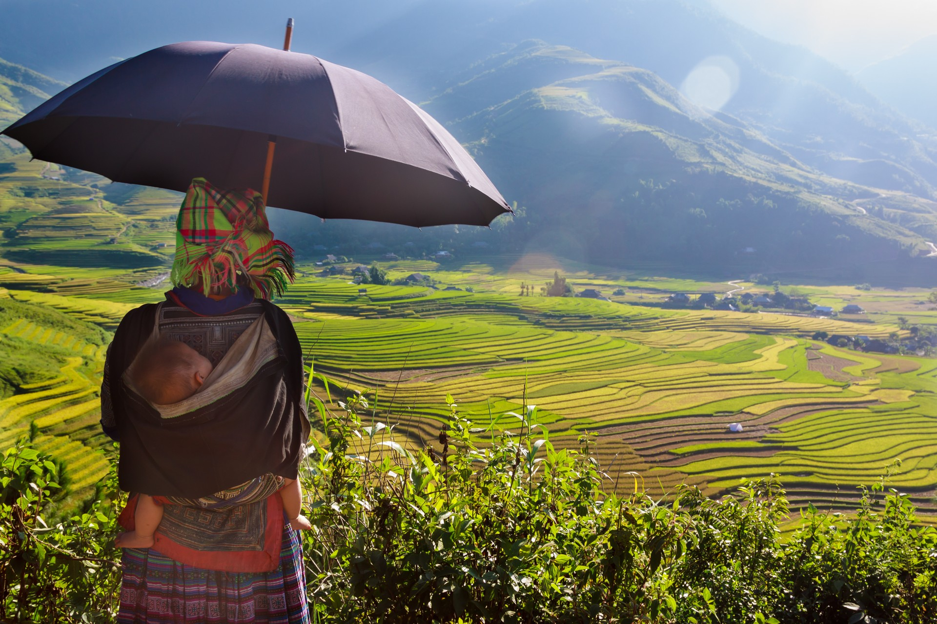 Hmong lady in Sapa, Vietnam