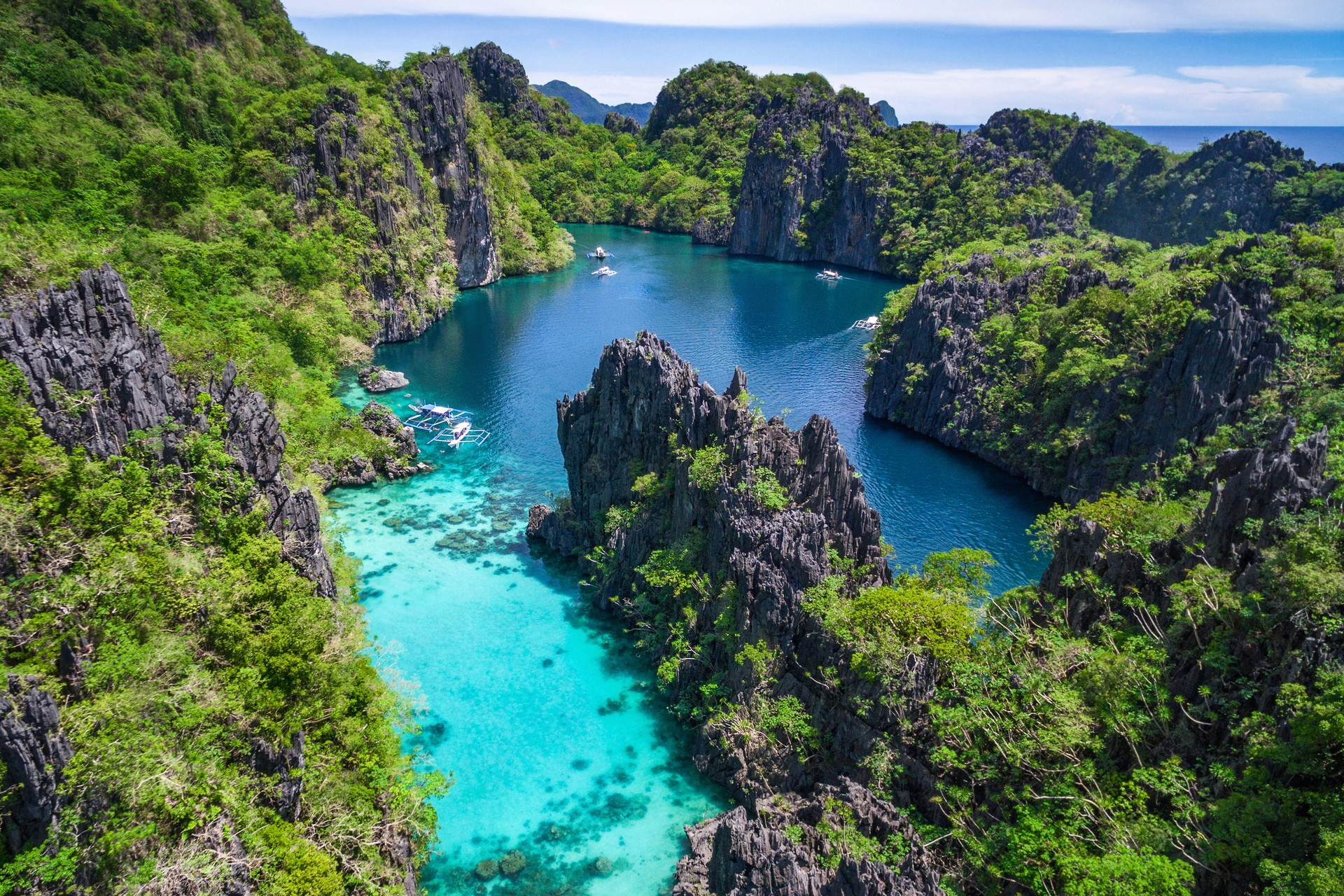 The best places to go wild swimming: El Nido