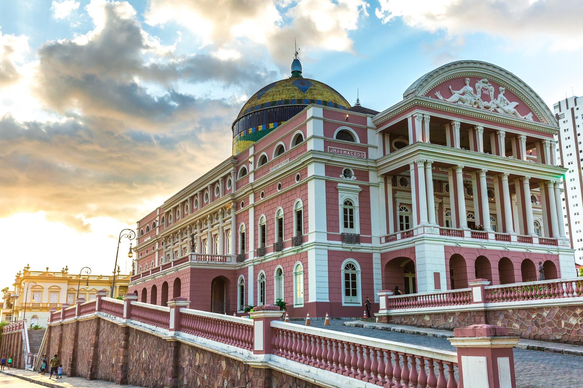 The Teatro Amazonas in Manaus
