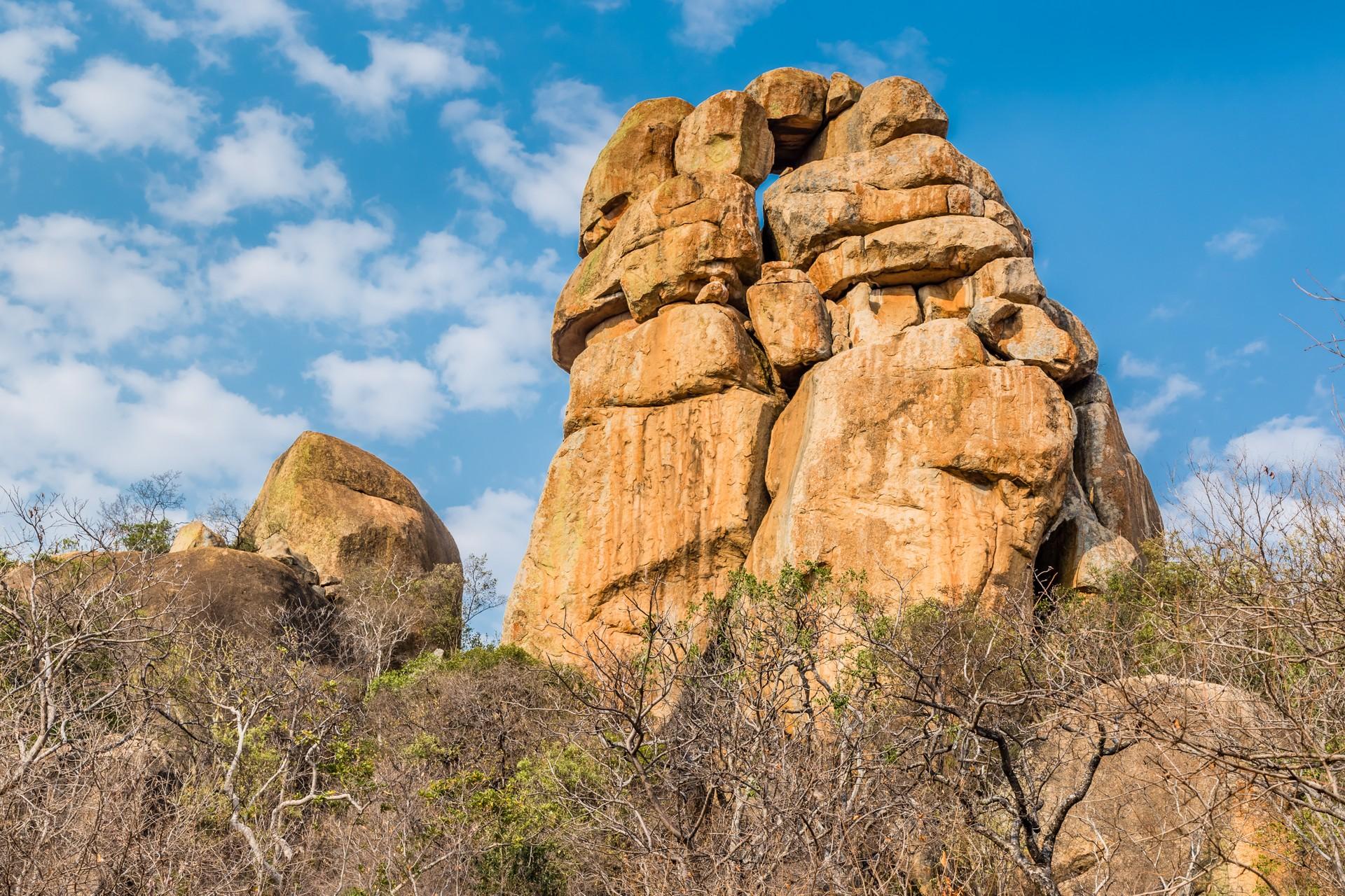 Zimbabwe's best natural attractions: Balancing Rocks