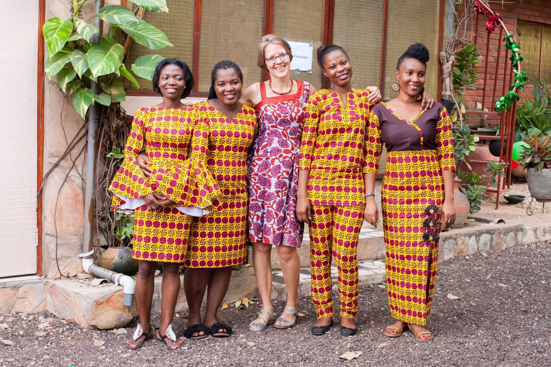 Our fantastic female-led local partners: Cindy, Ghana