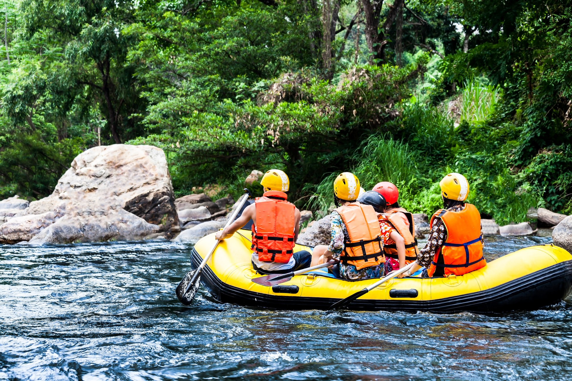 Rafting in Pacuare Costa Rica