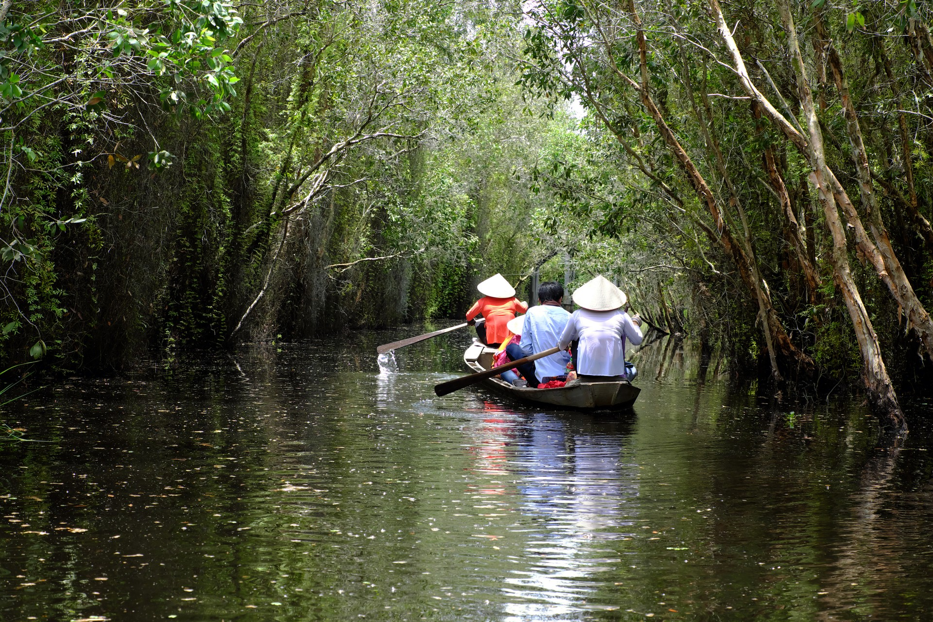 Boat trip in the Mekong Delta