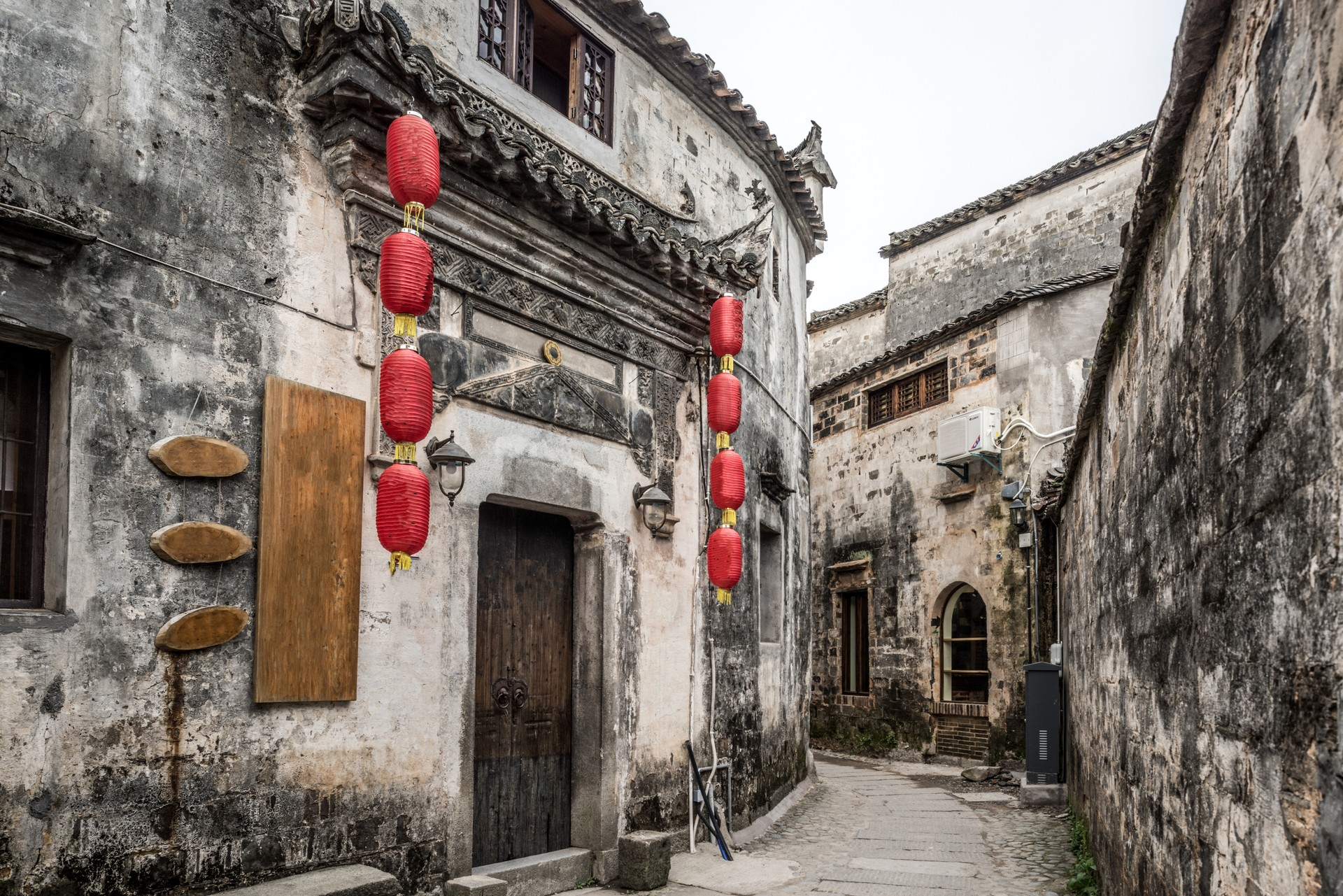 Hongcun village in China