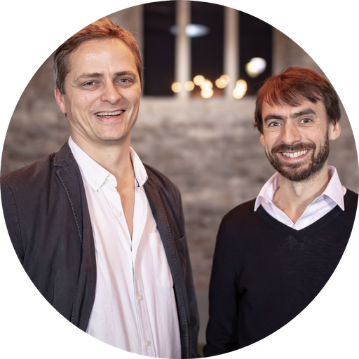 Huw and Tom, TravelLocal founders