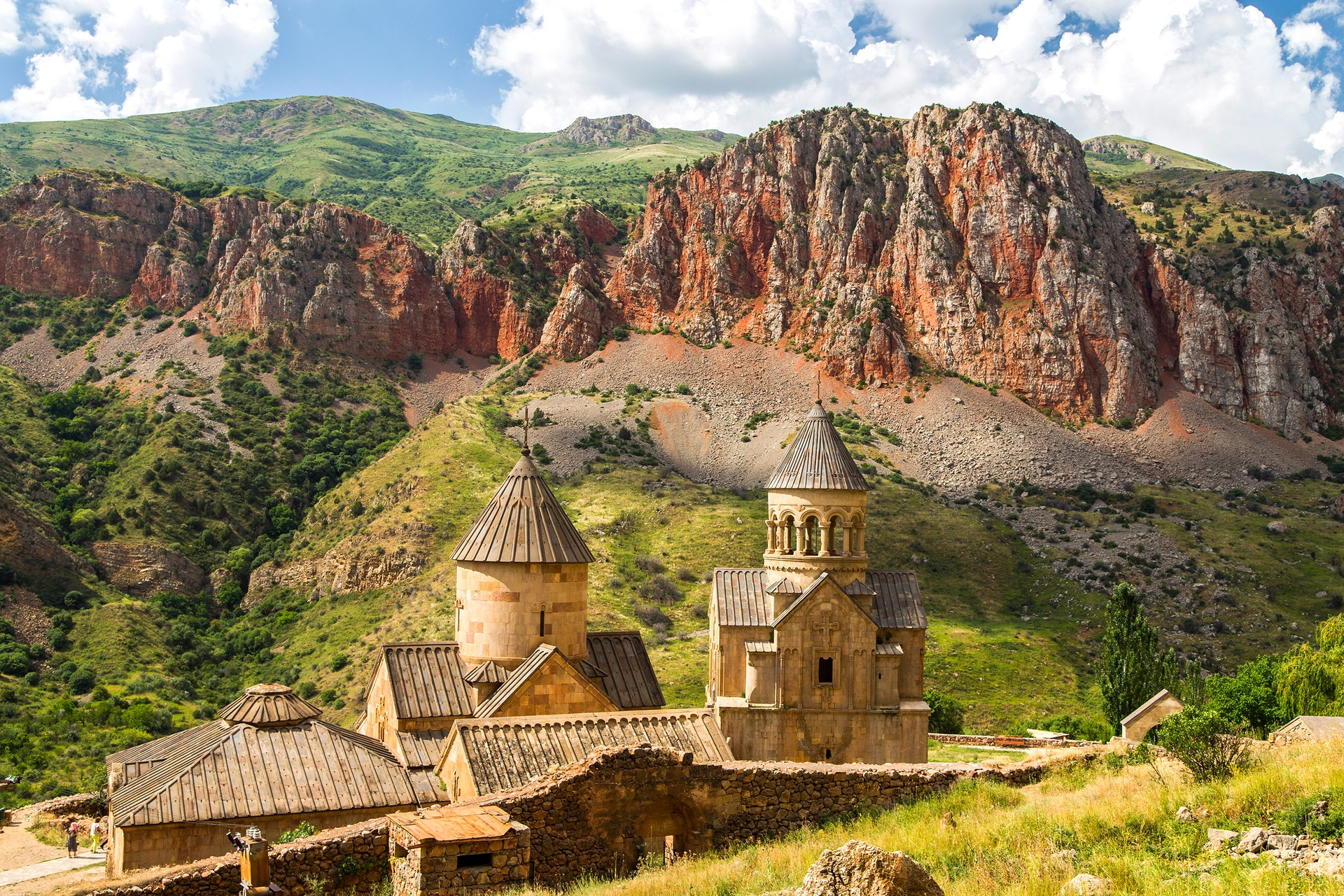 The Noravank Monastery in Armenia