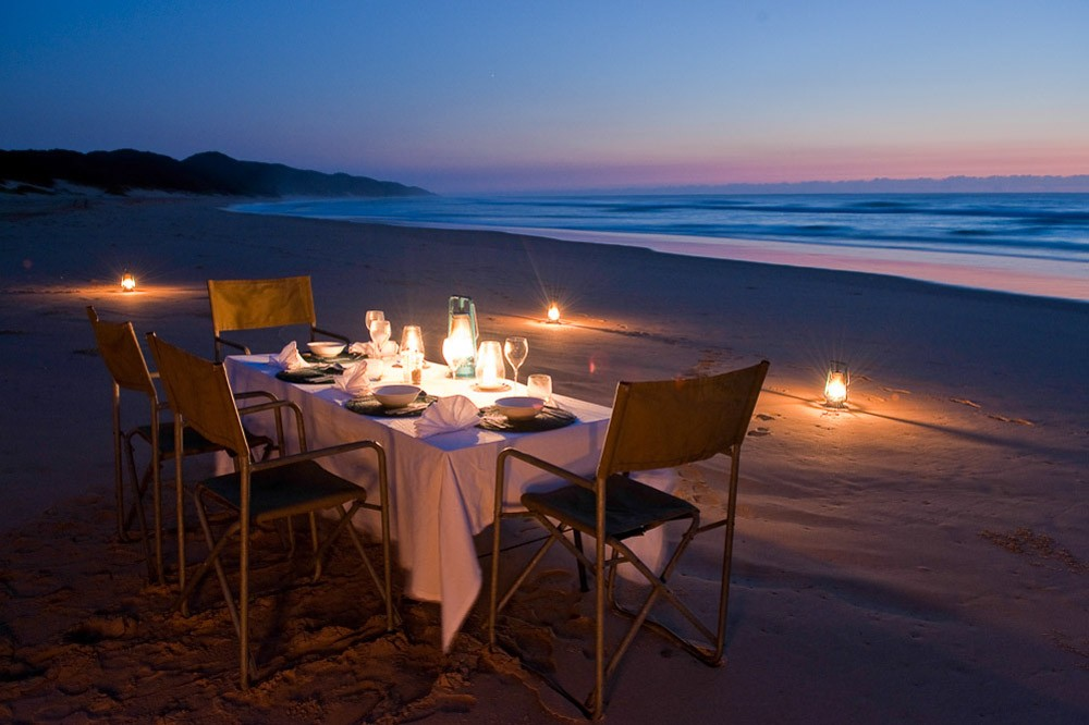 iSimangaliso beach dining - South Africa holidays