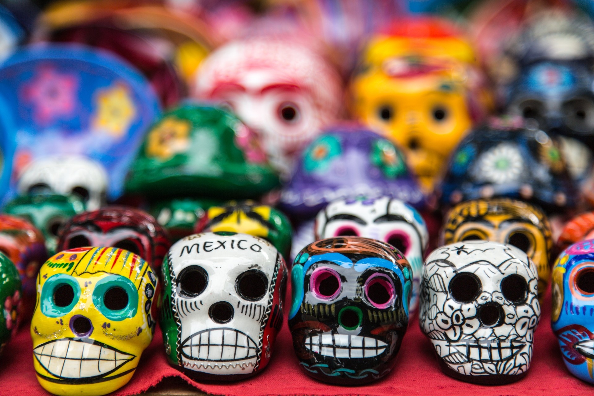 How to experience Mexico's famous Day of the Dead: Decorated Skulls