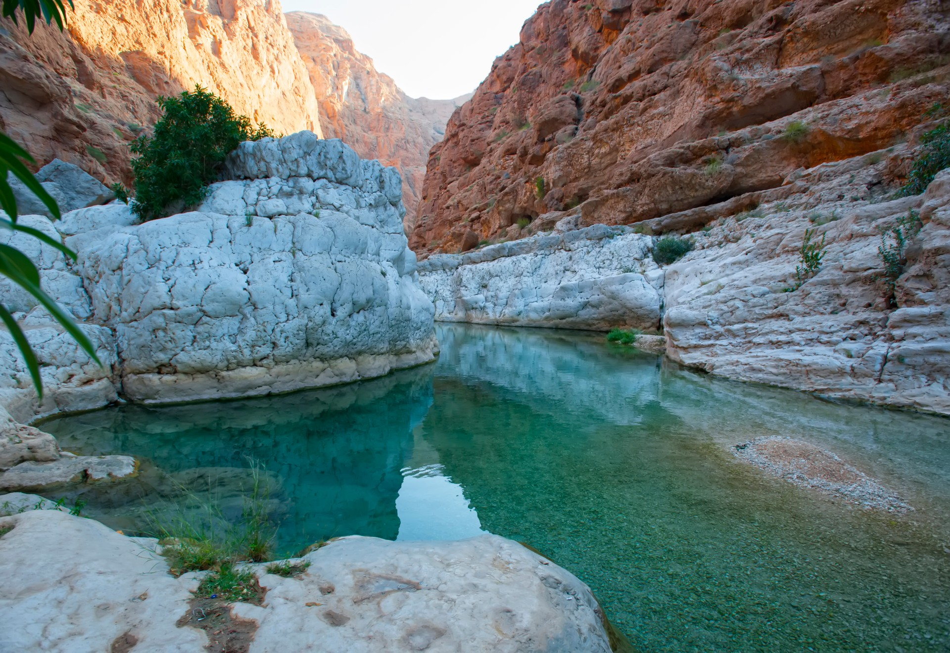 The best places to go wild swimming: Wadi Bani Khalid