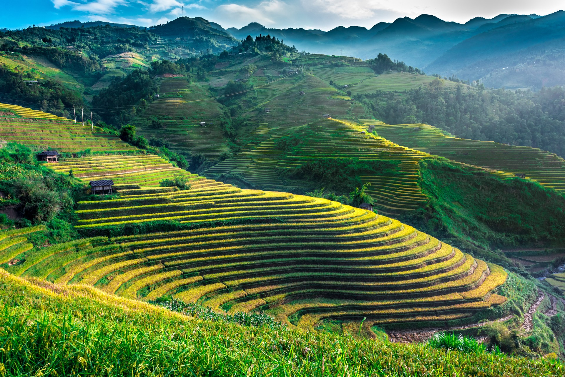 Mu Cang Chai landscape