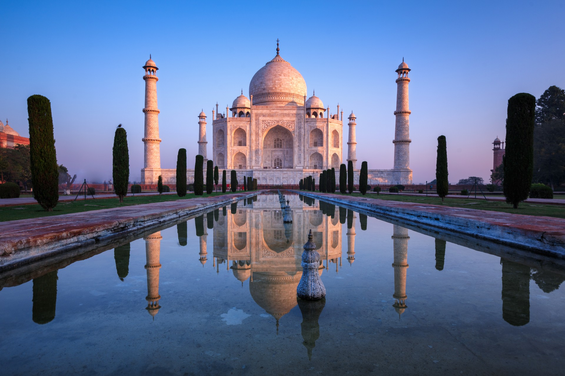 India's Taj Mahal is over 400 years old