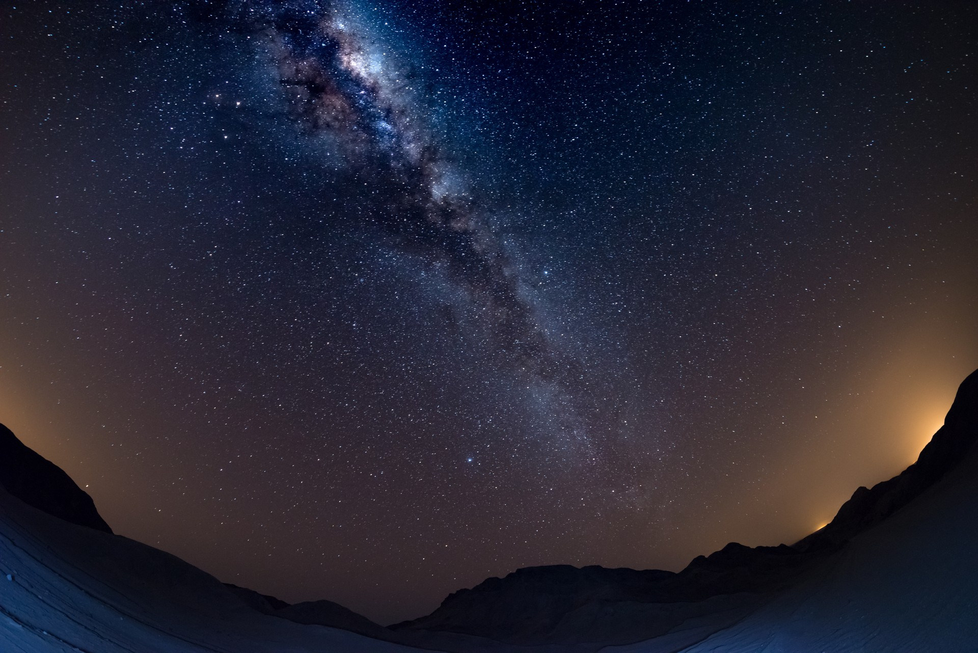 The Milky Way seen from the NamibRand Nature Reserve, Namibia