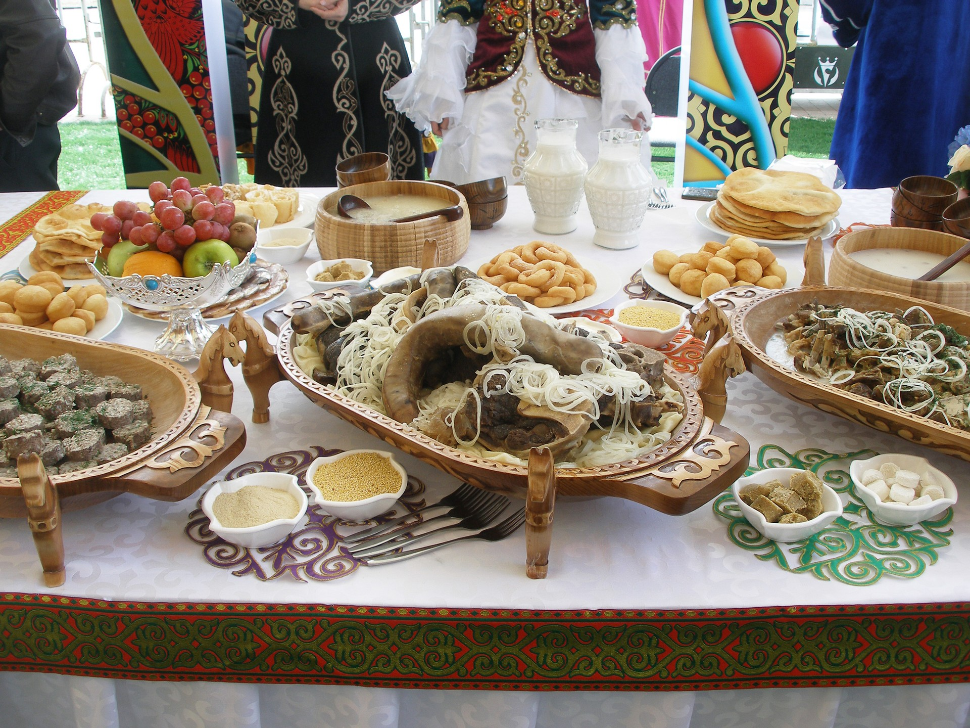 Countries that celebrate Christmas in January: Kazakhstan food