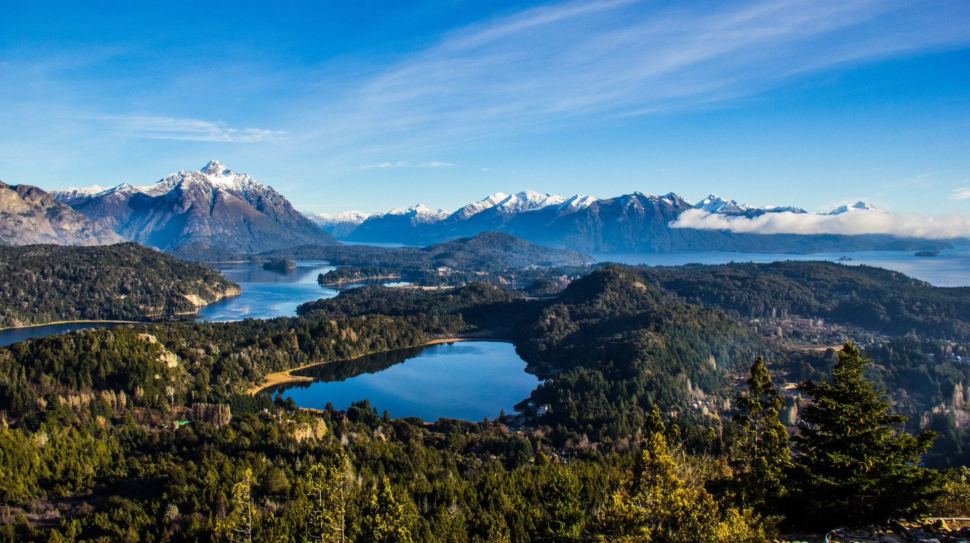 The best places to go wild swimming: Lago Nahuel Huapi