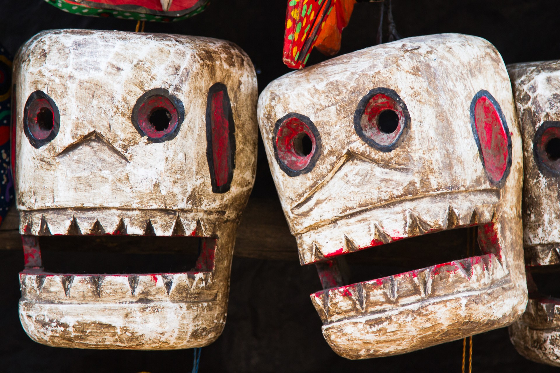 Day of the dead decorations in Guatemala