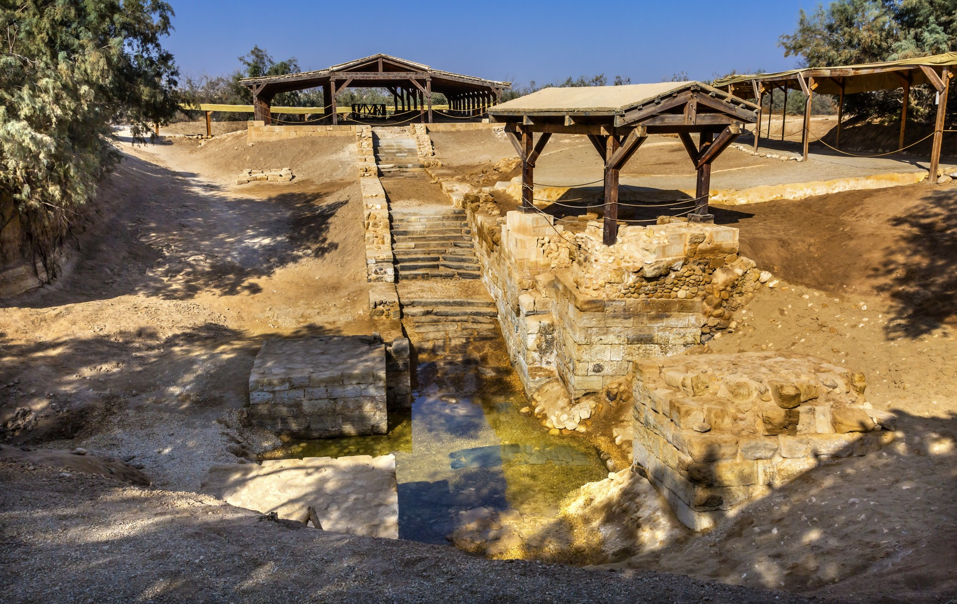 Bethany in Jordan: the site of Jesus' baptism