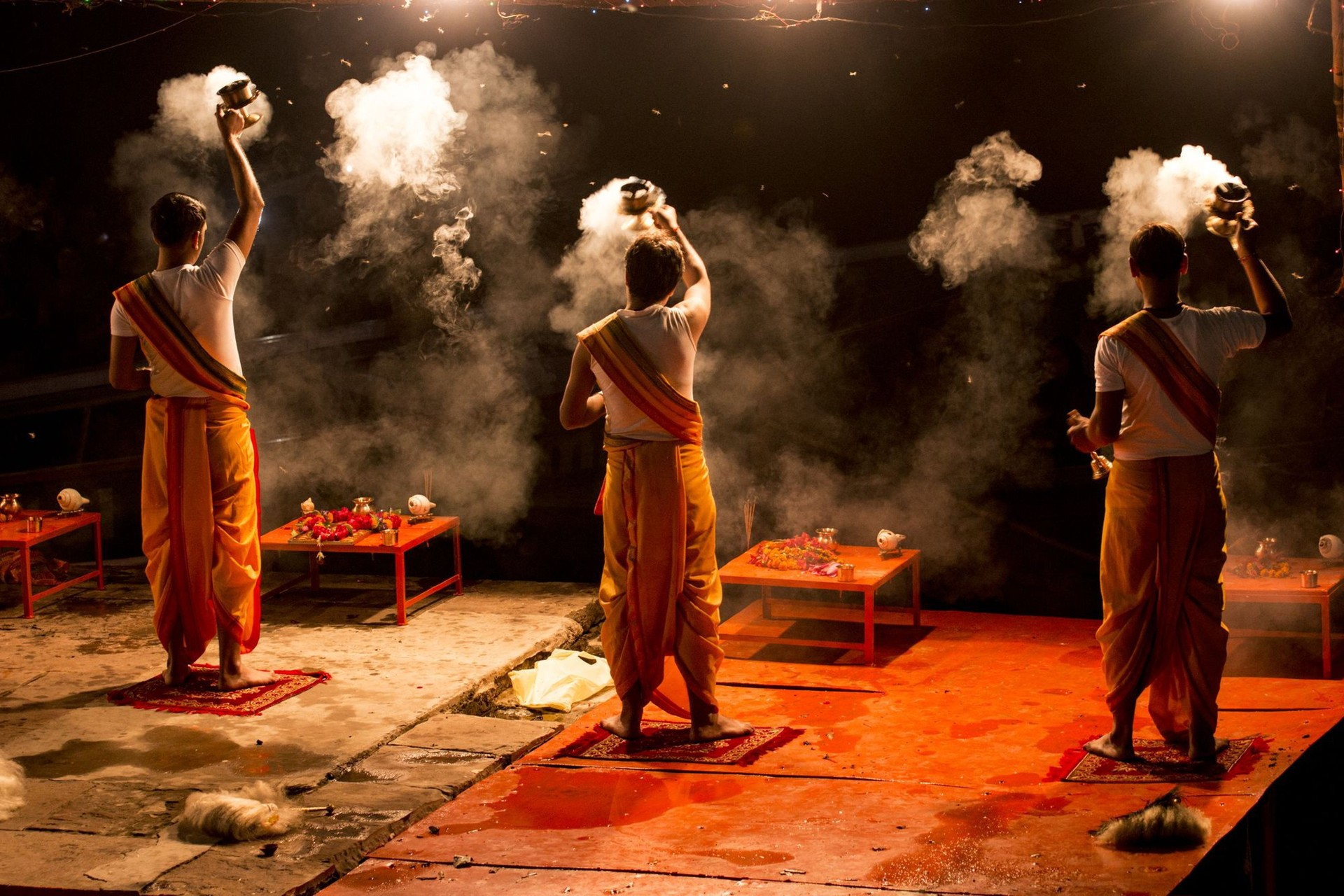 Aarti ceremony Varanasi, India