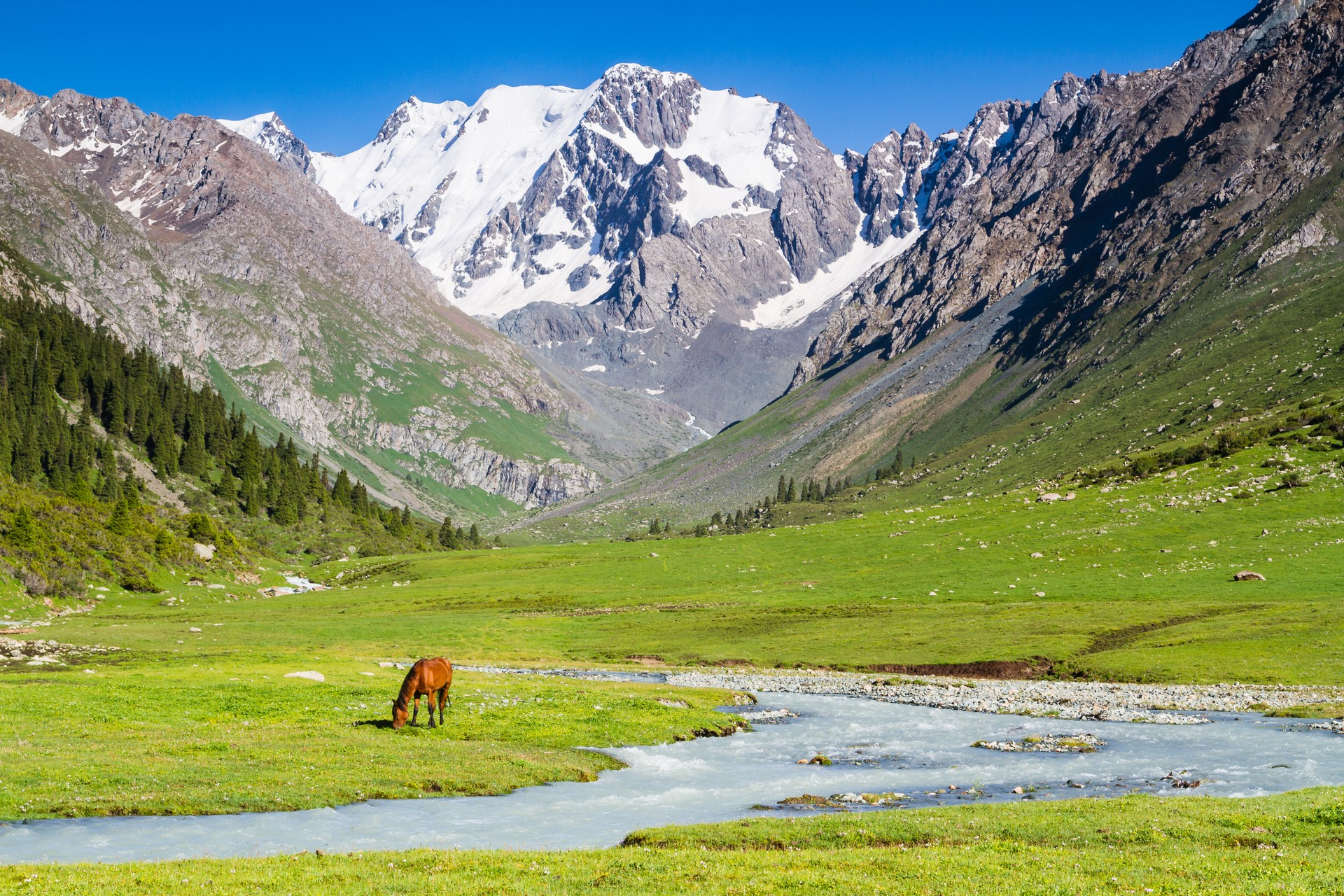 Top 10 scenic journeys: Tian Shan Mountains