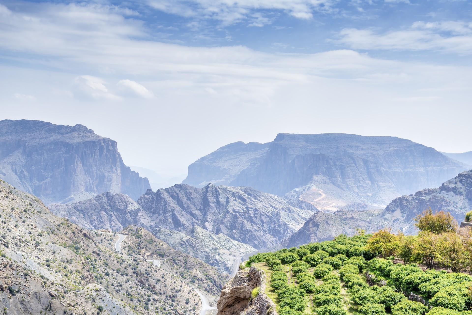 Oman's Hajar Mountains are the perfect off-season holiday destination