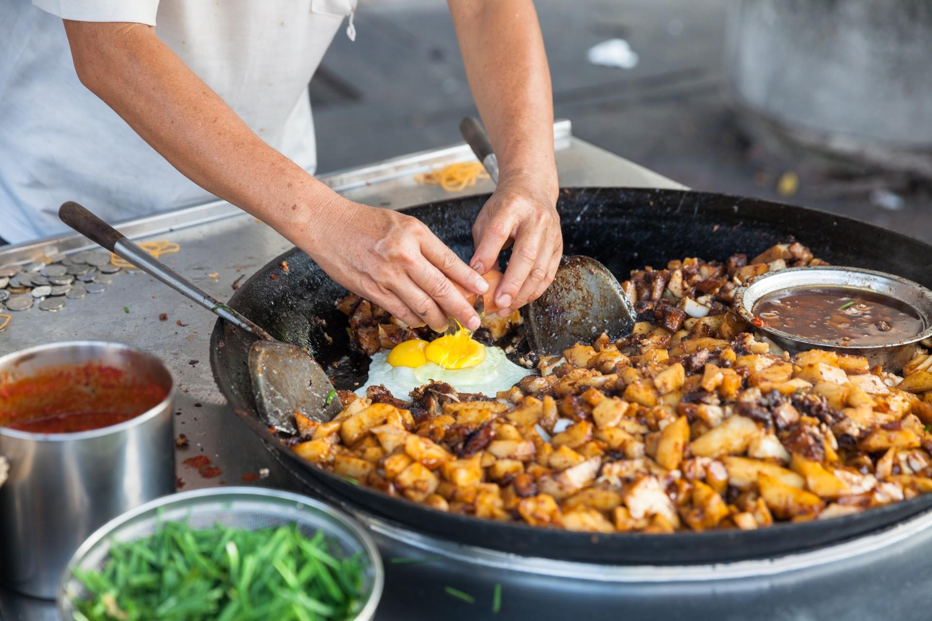 Malay street food Penang