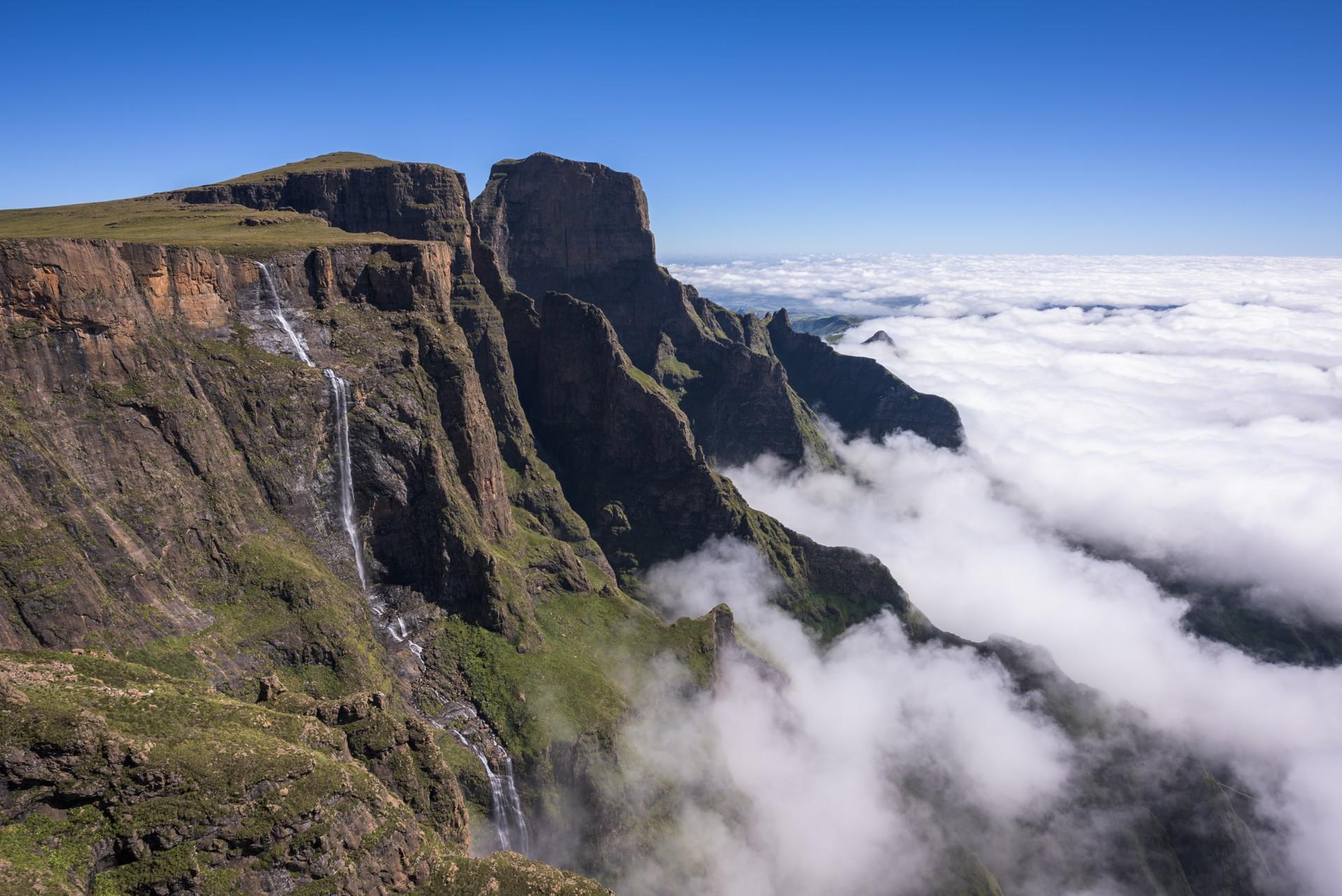 Tugela Falls in Drakensberg, South Africa