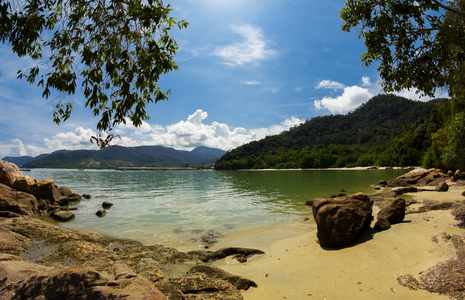 Secluded beaches in Penang National Park