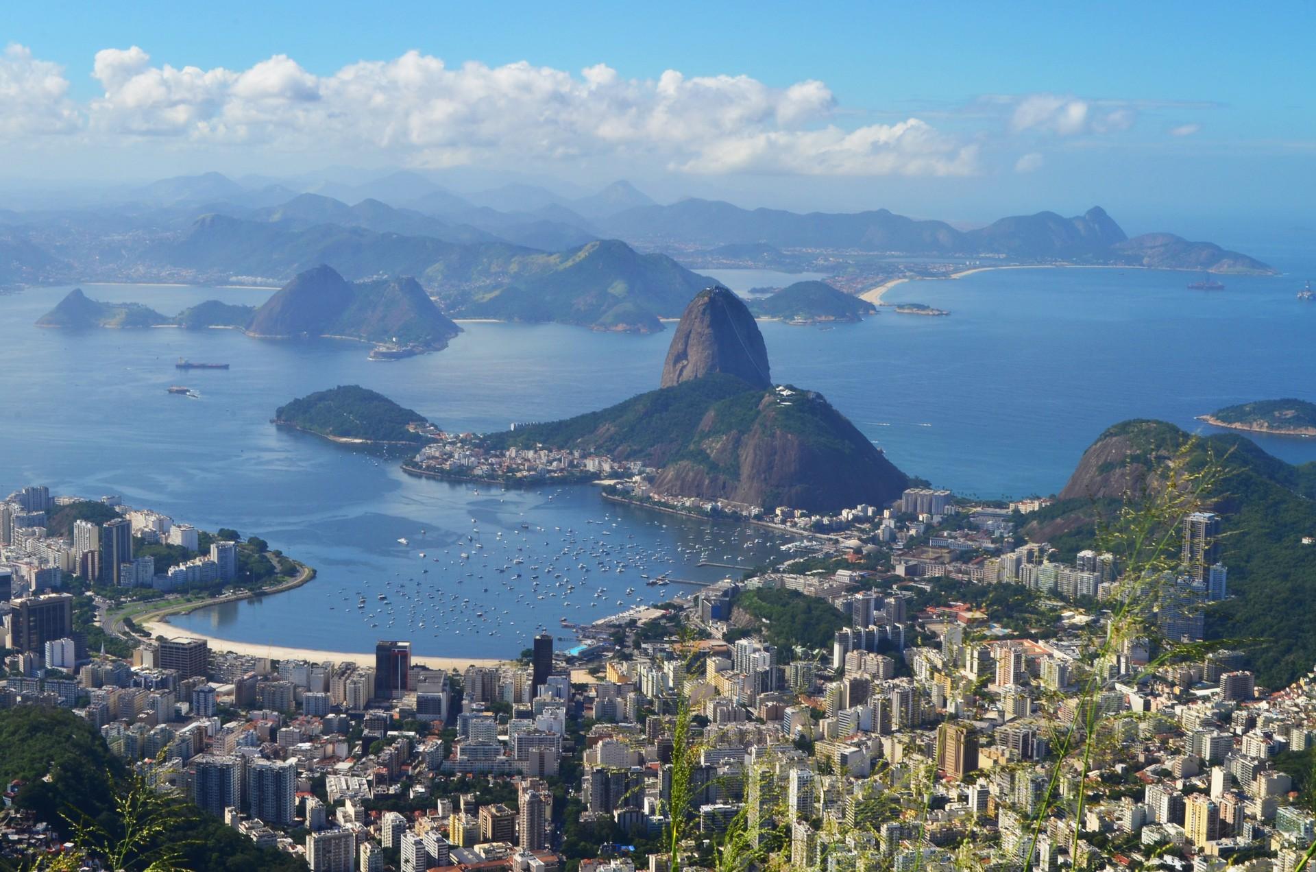 View of Rio de Janeiro from Corcovado