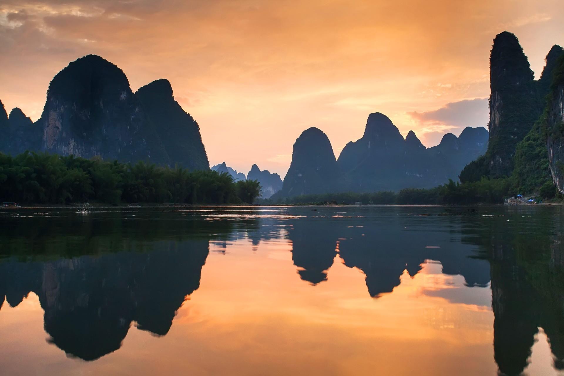 Yangshuo landscape China