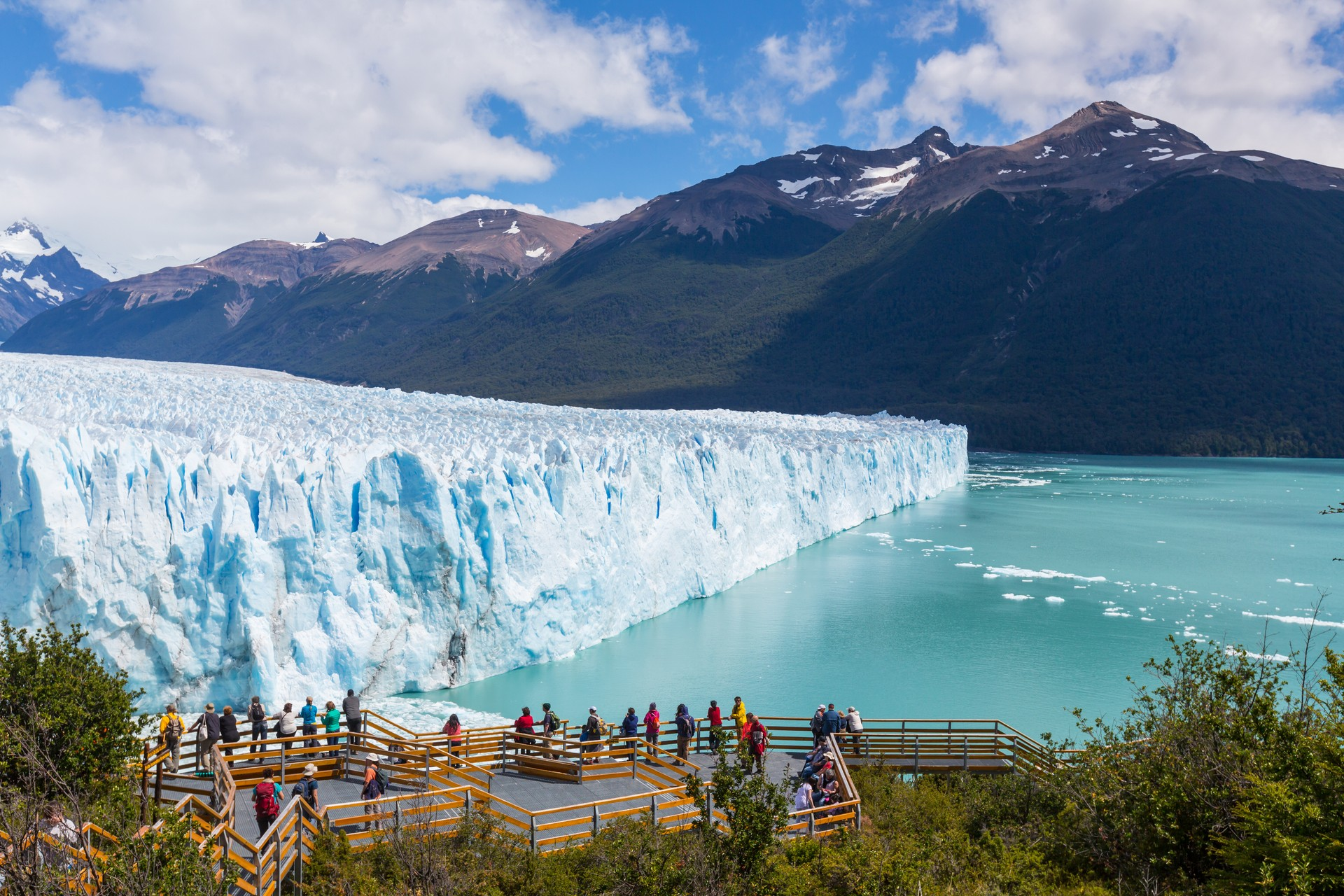 Where to go for Winter Wonderlands: Perito Moreno Glacier