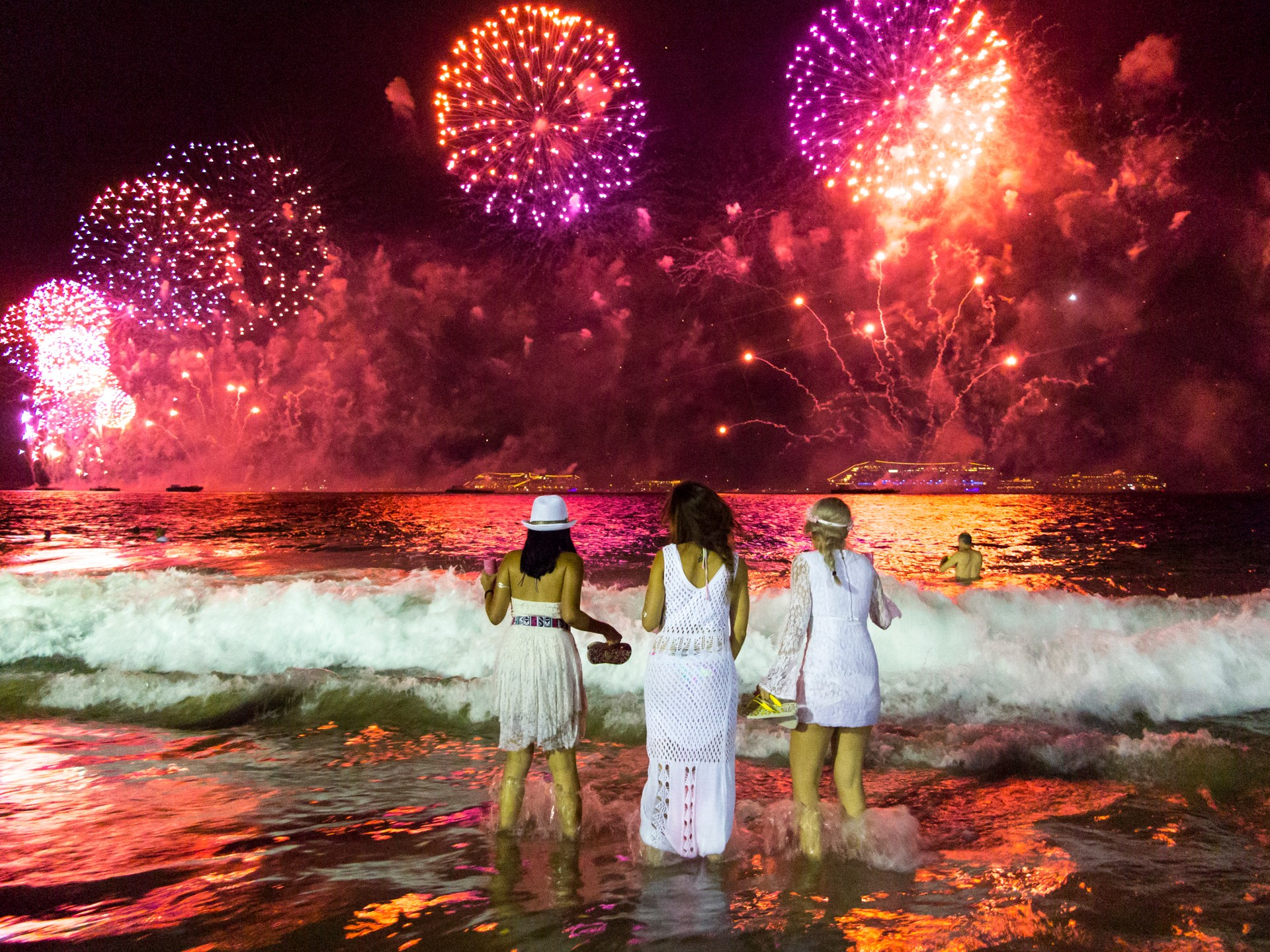 Unique New Year traditions around the world: Brazil