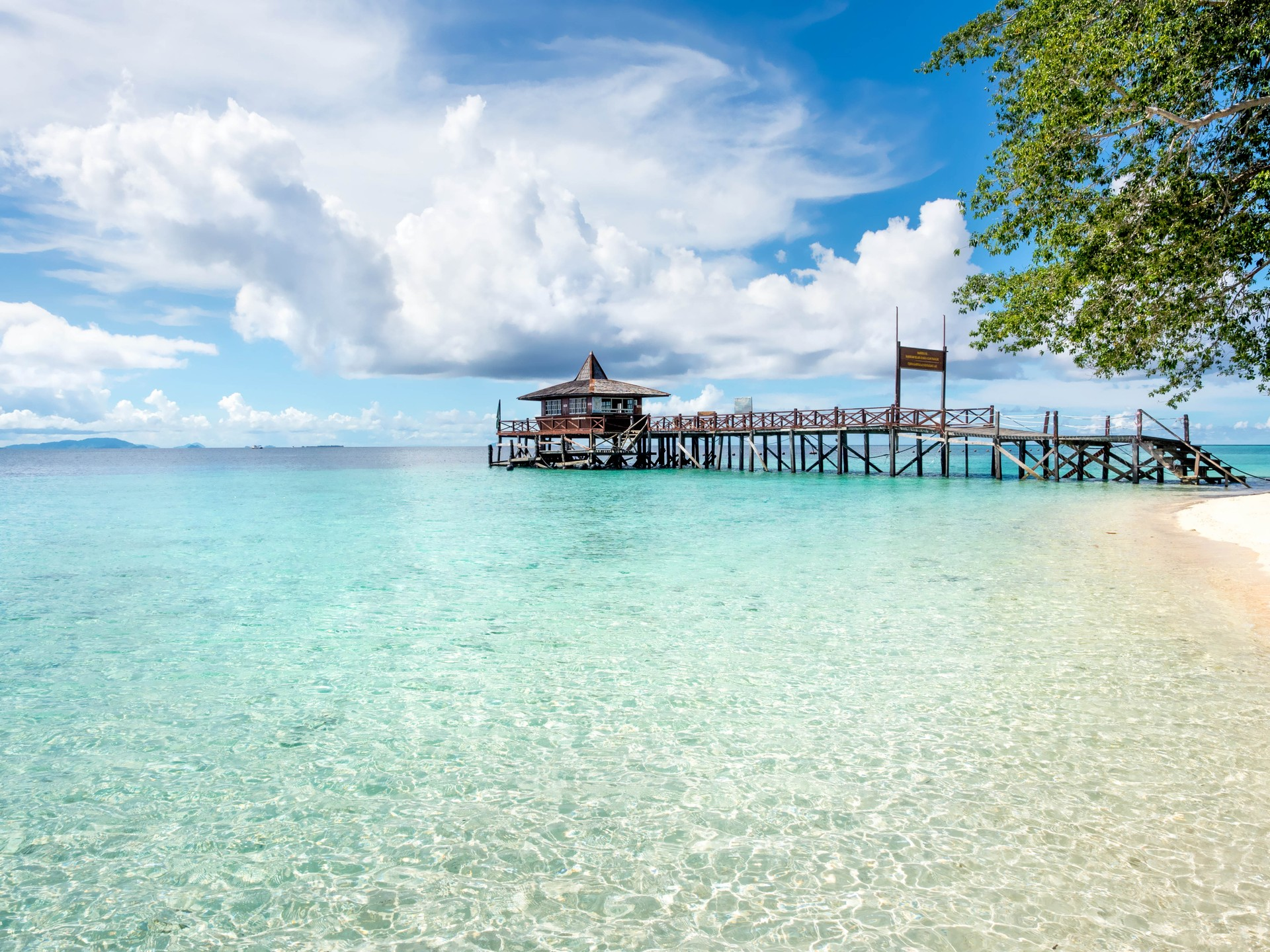 Borneo holidays: Beach on Sipadan island