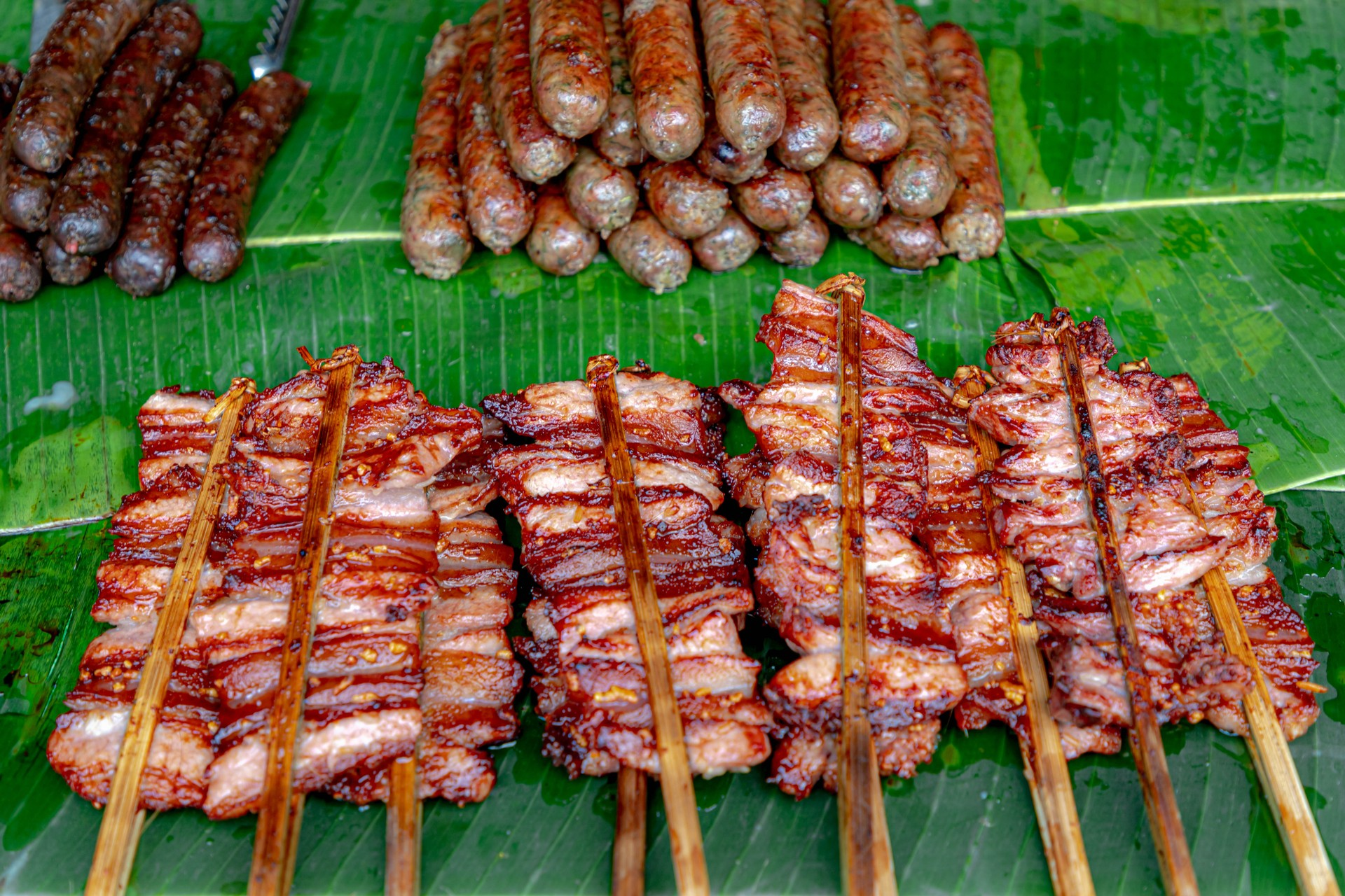 What to eat in Vientiane: Grilled Meat