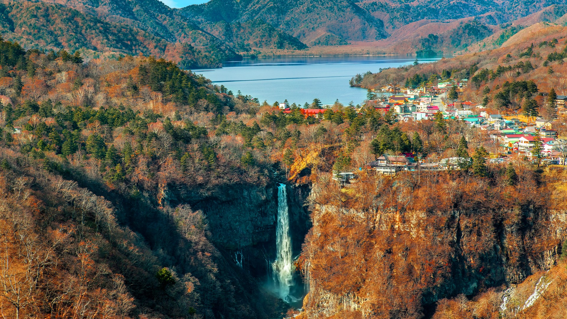 Kegon Waterfall Japan
