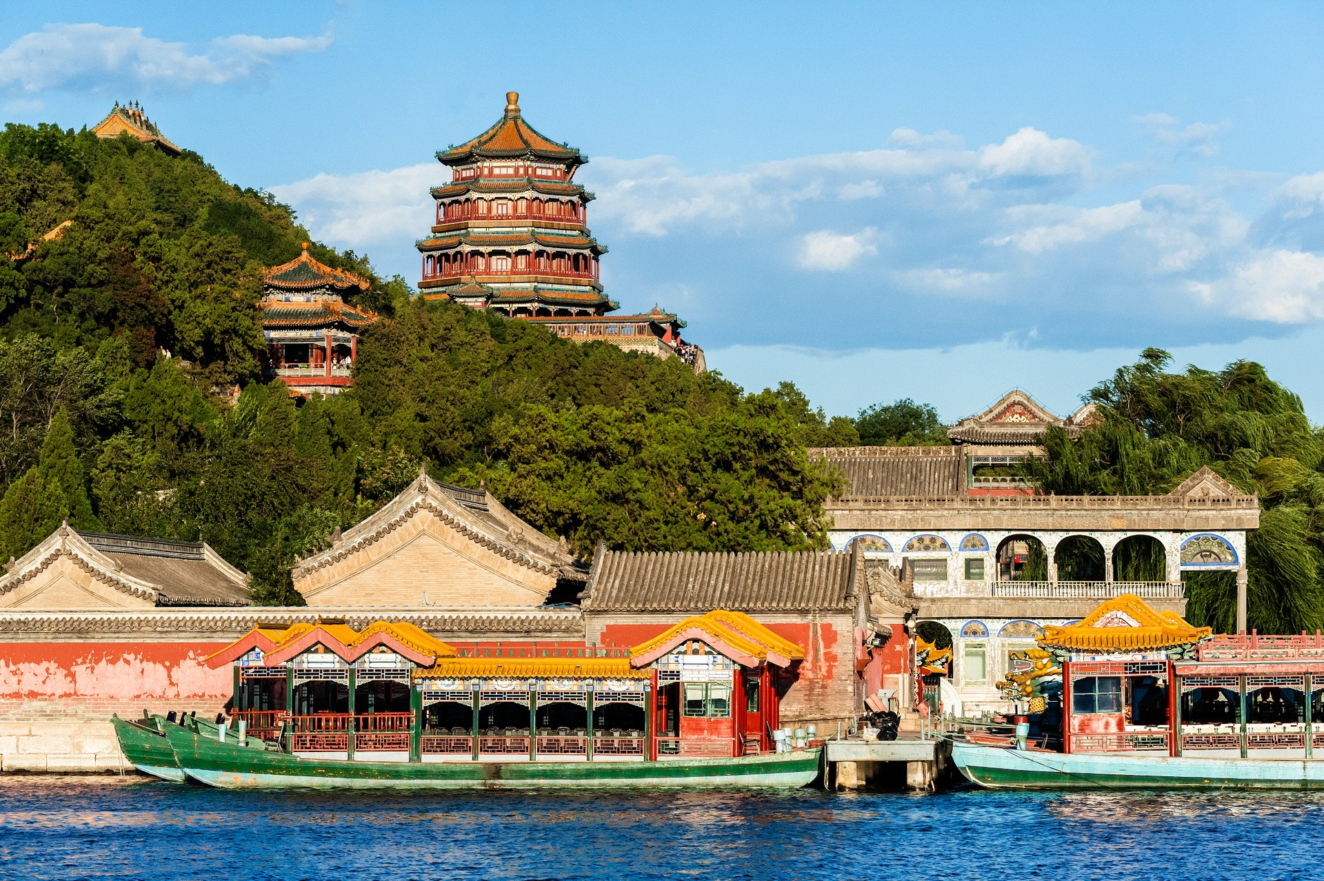 Summer Palace on the lake, Beijing
