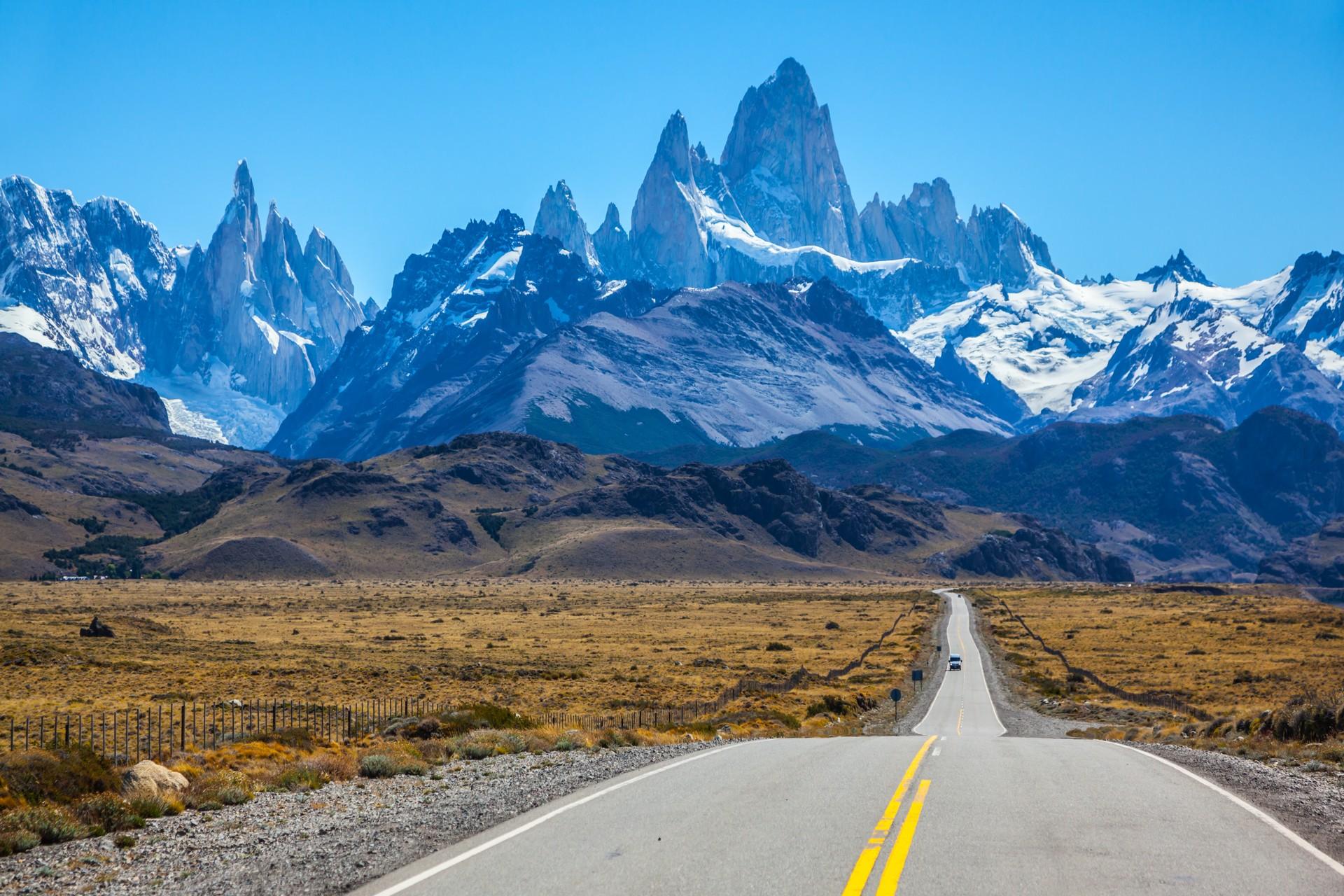Argentina road trip mountain views